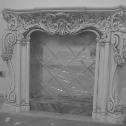 гипсовая лепнина - гипсовый каминный портал Гипсовая лепнина Аврора (Краснодар)