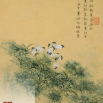 Flowers, from an Album of Ten Leaves (Butterflies) by Zhou Xianji