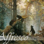 Фреска фабрики Affresco MorninginaPineForest