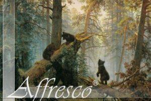 Фреска фабрики Affresco MorninginaPineForest