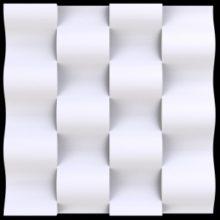 Гипсовые 3d панели Аврора (Краснодар)