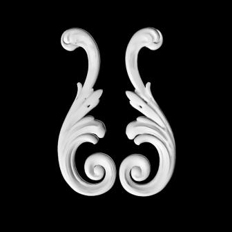Гипсовая лепнина Аврора (Краснодар). Гипсовый декор Д10