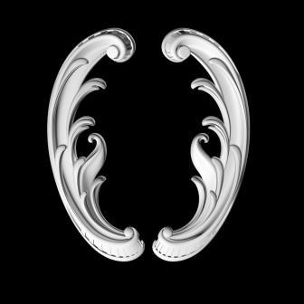 Гипсовый декор Д101 гипсовая лепнина Аврора