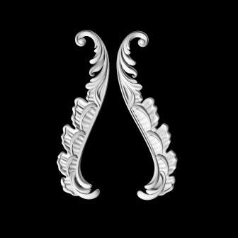 Гипсовый декор Д102 гипсовая лепнина Аврора