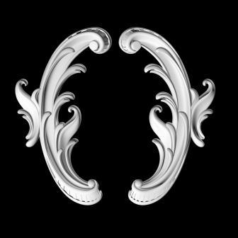 Гипсовая лепнина Аврора (Краснодар). Гипсовый декор Д 103