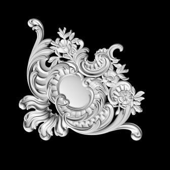 Гипсовая лепнина Аврора (Краснодар). Гипсовый декор Д 104
