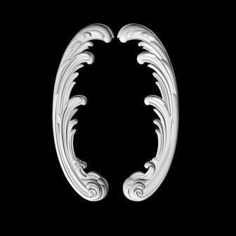 Гипсовая лепнина Аврора (Краснодар). Гипсовый декор Д106