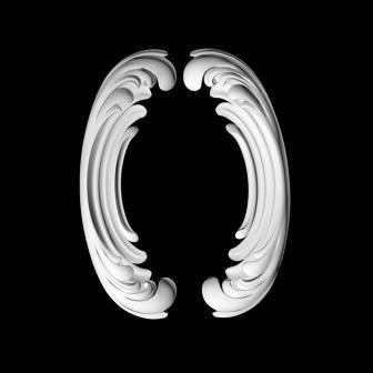гипсовый декор Д107 гипсовая лепнина Аврора