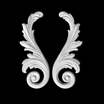 Гипсовая лепнина Аврора (Краснодар). Гипсовый декор Д 11