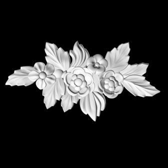 Гипсовая лепнина Аврора (Краснодар). Гипсовый декор Д 110