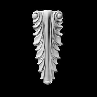 гипсовый декор Д25Б гипсовая лепнина Аврора