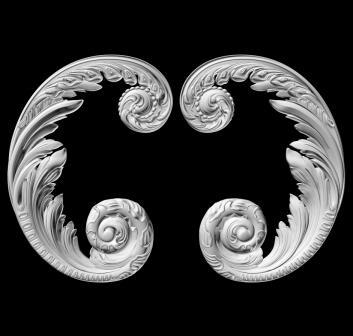 гипсовый декор Д46 гипсовая лепнина Аврора