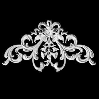 Гипсовые потолочные углы :гипсовый декор Д48 гипсовая лепнина Аврора