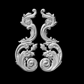 гипсовый декор Д51 гипсовая лепнина Аврора