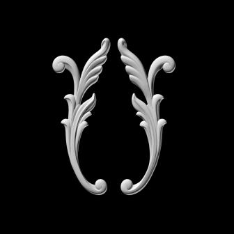 гипсовый декор Д52 гипсовая лепнина