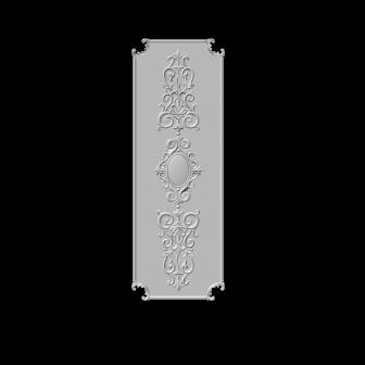 гипсовый декор Д71М гипсовая лепнина Аврора (Краснодар)