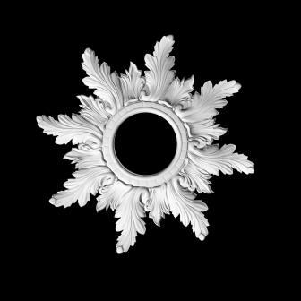 гипсовый декор Д73 гипсовая лепнина Аврора (Краснодар)
