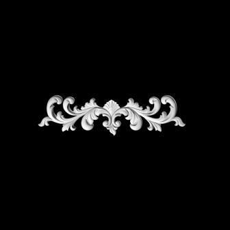 гипсовый декор Д75ц гипсовая лепнина Аврора (Краснодар)