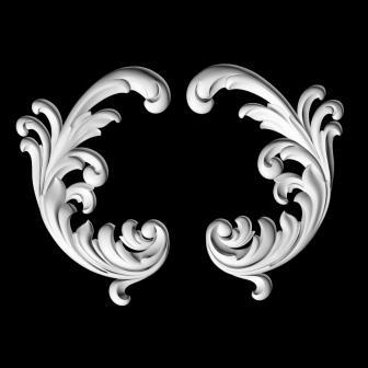 гипсовый декор Д75-3 гипсовая лепнина Аврора (Краснодар)