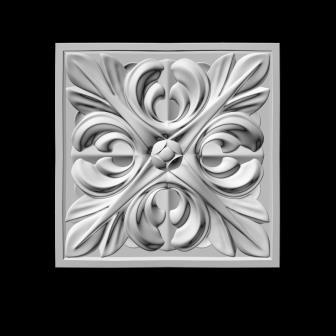гипсовый декор Д84 Б гипсовая лепнина Аврора