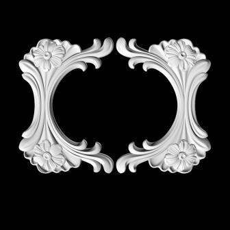 гипсовый декор Д91 гипсовая лепнина Аврора