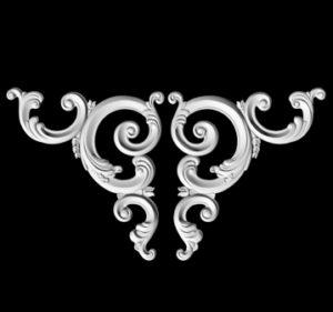 гипсовый декор Д13 гипсовая лепнина