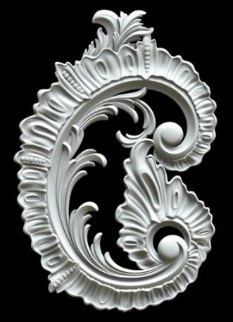 Гипсовый декор Д158. Гипсовая лепнина Аврора (Краснодар)