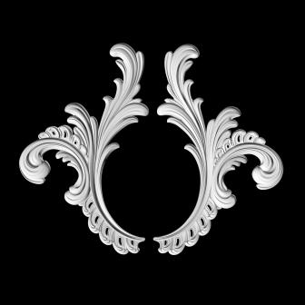 Гипсовая лепнина Аврора (Краснодар). Гипсовый декор Д 112