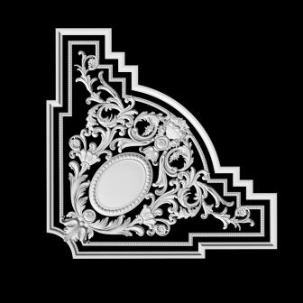 Гипсовая лепнина Аврора (Краснодар). Гипсовый декор Д 113