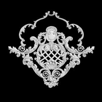 Гипсовая лепнина Аврора (Краснодар). Гипсовый декор Д 114