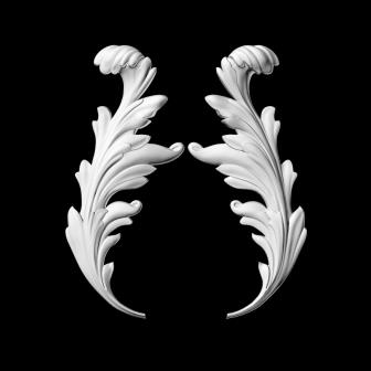 Гипсовая лепнина Аврора (Краснодар). Гипсовый декор Д 118-1