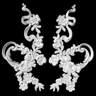гипсовый декор Д118-2 гипсовая лепнина Аврора