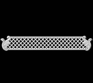 Гипсовая лепнина Аврора (Краснодар). Гипсовый декор Д 118-3