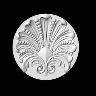 Гипсовая лепнина Аврора (Краснодар). Гипсовый декор Д 118-5