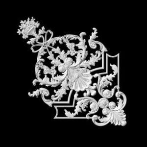 гипсовый декор Д118-7 гипсовая лепнина Аврора