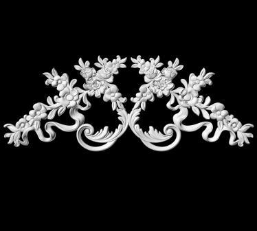 гипсовый декор Д118-8 гипсовая лепнина Аврора