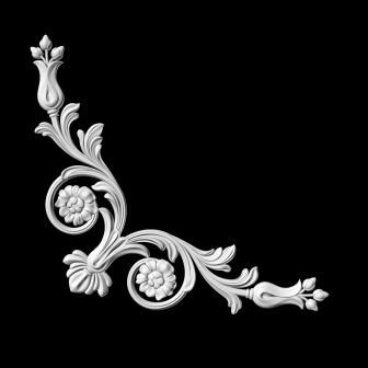 гипсовый декор Д126 гипсовая лепнина