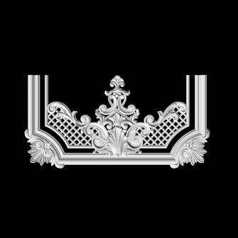 Гипсовый декор Д140 Гипсовая лепнина Аврора (Краснодар)