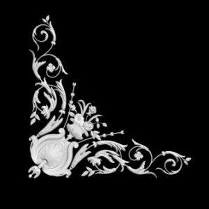 гипсовый декор д124 гипсовые потолочные углы студия аврора (Краснодар)