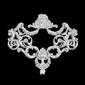 гипсовый декор д139 гипсовая лепнина