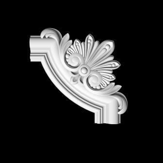 Гипсовый декор Д141 Гипсовая лепнина Аврора (Краснодар)