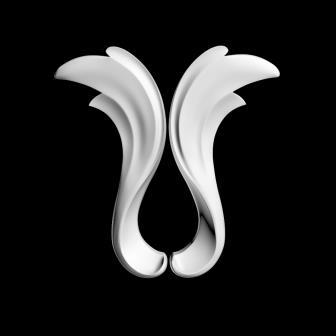 гипсовый декор д150 гипсовая лепнина