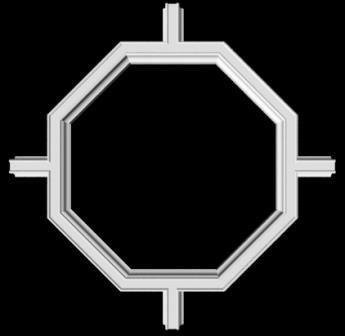 гипсовый декор Д116 гипсовая лепнина Аврора