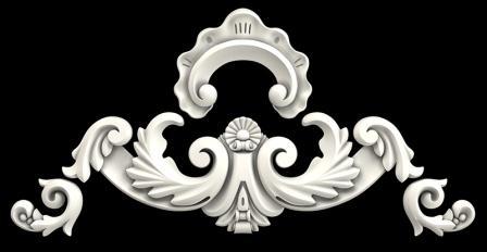 Гипсовая лепнина Аврора (Краснодар). Гипсовый декор Д34Б