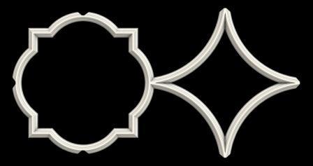 гипсовый декор Д81 гипсовая лепнина Аврора