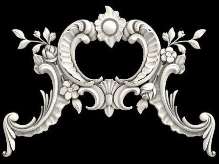 Гипсовая лепнина Аврора (Краснодар). Гипсовый декор Д90