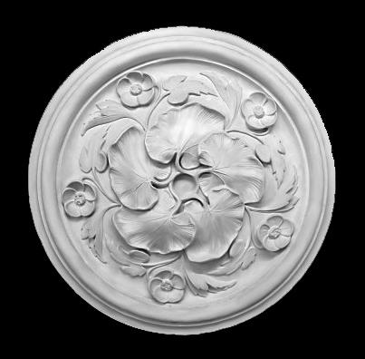 Гипсовая потолочная розетка АП77 Гипсовая лепнина Аврора (Краснодар)
