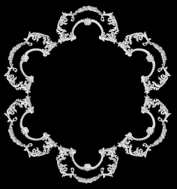 гипсовая потолочная розетка номер АП78 диаметр 240 см
