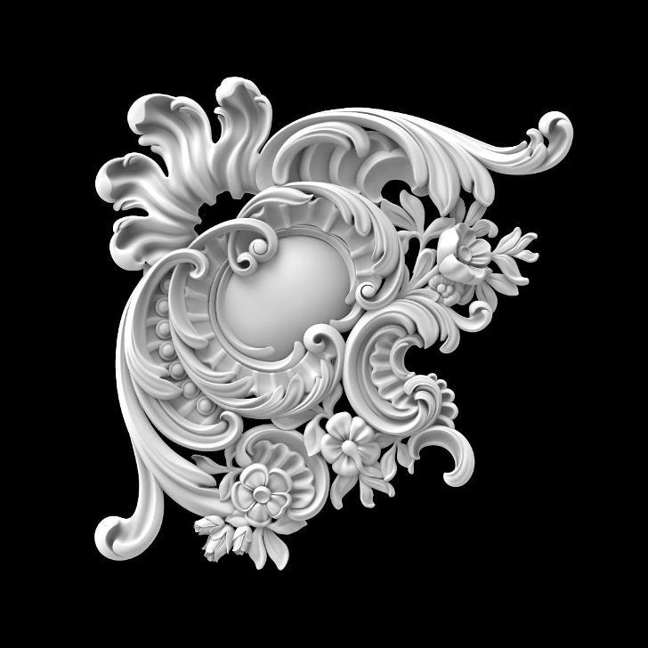 Гипсовый декор Д104 Гипсовая лепнина Аврора (Краснодар)
