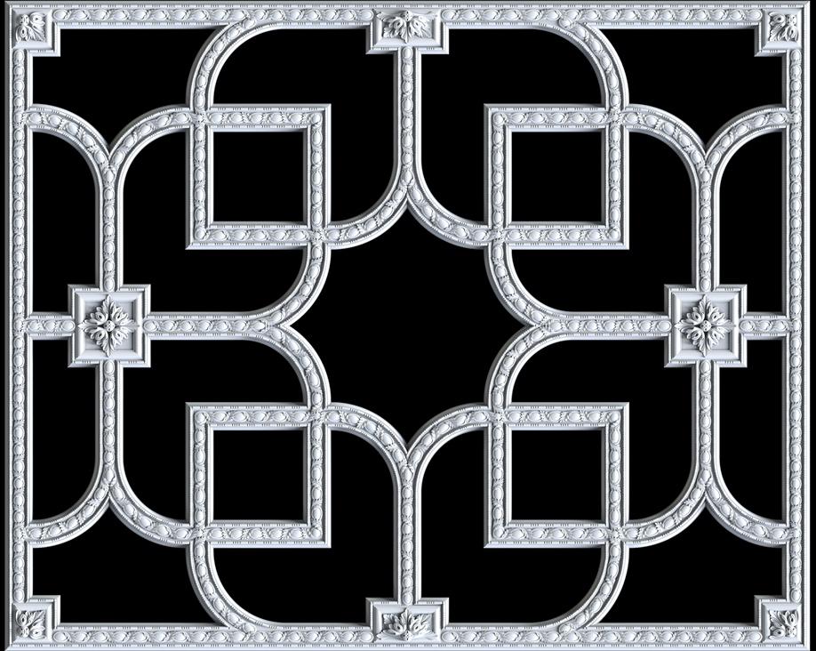 Гипсовый декор Д153 Гипсовая лепнина Аврора (Краснодар)